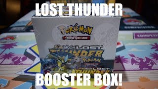Lost Thunder Booster Box!
