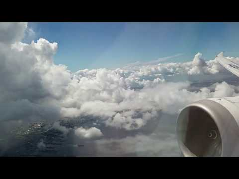 ANA Boeing 787-8 Manila-Narita (Full Flight)