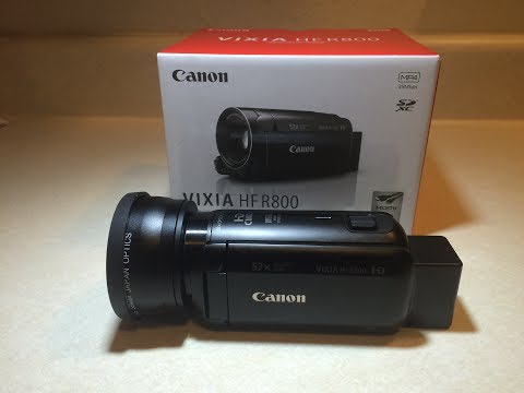 Canon Vixia HF R800 Review; Best Entry Level Video Camcorder of 2017?