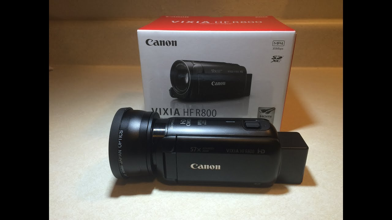 0a9f20ba9bc Canon Vixia HF R800 Review; Best Entry Level Video Camcorder of 2017? -  YouTube