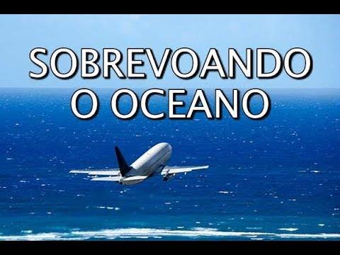 ETOPS - AVIÃO CRUZANDO O OCEANO