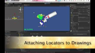 Game Animation with Toon Boom Harmony Gaming Pipeline