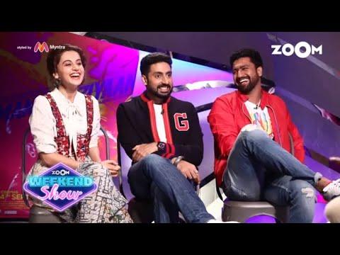 Manmarziyaan  Taapsee Pannu, Abhishek Bachchan & Vicky Kaushal  Movie   Zoom Weekend
