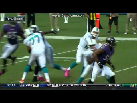 Elvis Dumervil 2013 Highlights