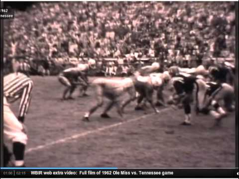 Tenn vs Ole Miss 1962