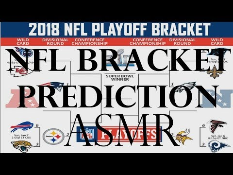 ASMR Sports: NFL Playoff Predictions and Final Season Standings - (Whispered Football ASMR)