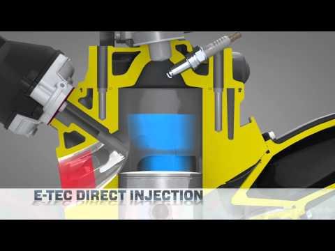 E-TEC Engine Technology for Ski-Doo Snowmobiles