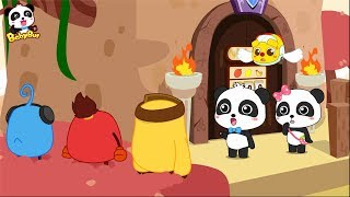 Magical Number Castle  | Bad Fox Invades BabyBus Town | Math Kingdom Adventure 1-4 | BabyBus
