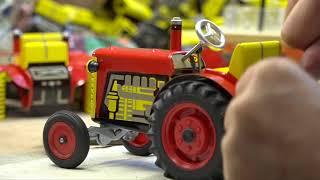 Příběh legendárního plechového traktoru, červeno-žlutý Zetor slaví 60 let