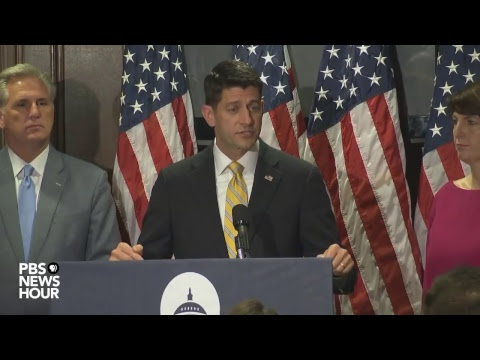 WATCH LIVE: Paul Ryan holds press conference to discuss GOP tax reform