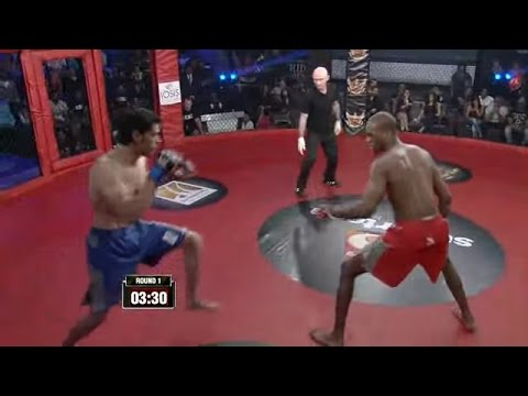 MMA in India: Super Fight League 7-HAITHAM TANTWAY VS MICHAEL PAGE