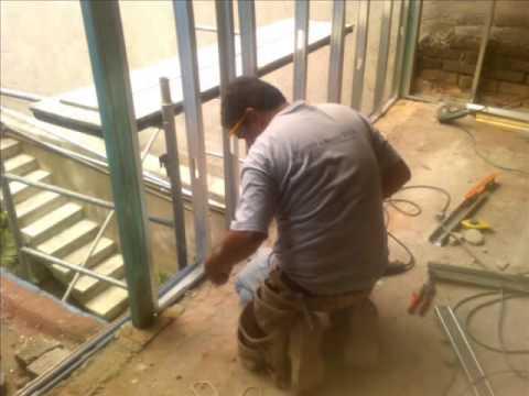 Muros y plafones de tablaroca y durock high youtube - Tipos de muros ...