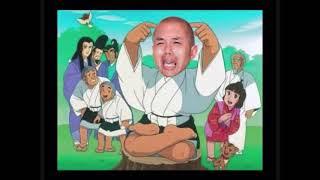 竜太郎和尚受難.