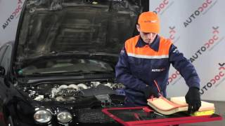 Hoe Subframe rubbers VW POLO (6N2) veranderen - instructie
