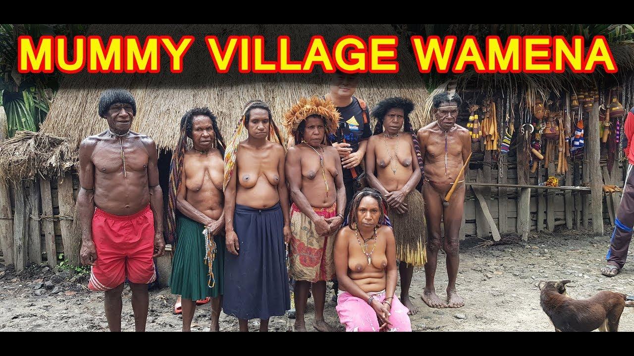 Baliem Valley เผ่ากินคน 2/7: WAMENA MOMMY VILLAGE
