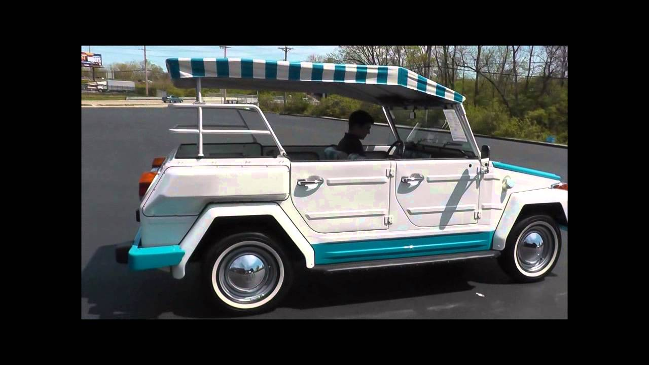 1974 Volkswagen Thing Acapulco Edition YouTube