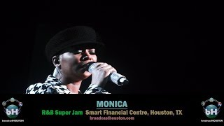 MONICA Absolutely Destroys LIVE SET @ RnB Super Jam (Slays Whitney Houston Cover Songs!)