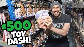 £500 TOY DASH!!! 3 MINS TO GRAB AS MANY TOYS AS I CAN!!!