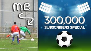 Browney Plays Football | 300,000 Subscribers SPECIAL