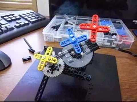 Lego Technic Planetary Gear.wmv - YouTube