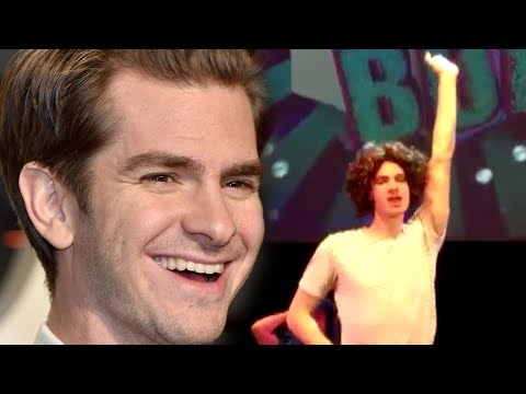 Andrew Garfield Lip Syncing Whitney Houston's 'I'm Every Woman' in a Wig Is a Must-See!
