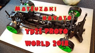 【RC RWD DRIFT】 Matsuzaki Hayato - D1-10 World 2018