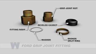 Ford Grip Joint Fitting - WaterworksTraining.com
