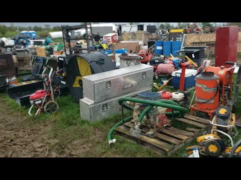 Auction Adventure! Day 1 Of HUGE AMISH Auction! CANT MISS RARE Furniture Toys Antiques Farm Equip.