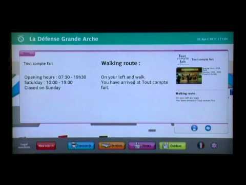 Interactive digital wayfinding and directories for RATP (parisian subway): ViaDirect