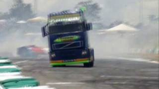 Show de Manobras na Fórmula Truck parte 02