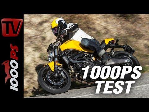 Ducati Monster 821 Test 2018 - Gelb ist das neue Rot!