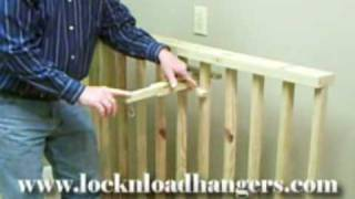 Lock-n-load® Hangers Video Showing How To Use The Picket Hanger, A New Lawn And Garden Hanger For Hanging Plants, Bird Houses, Bird Feeders, And Wind Chimes.