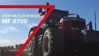 Specjalne opony Michelin dedykowane do ciągników Massey Ferguson serii 8700