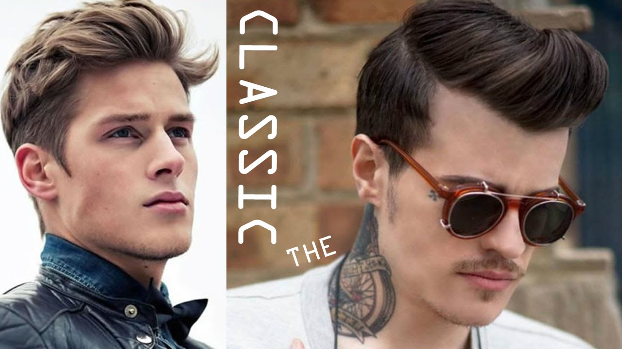 classic men's hairstyles - new trend in hairstyles for men 2016