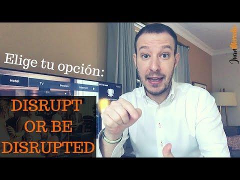 Tu NEGOCIO solo tendrá 2 OPCIONES: DISRUPT or BE DISRUPTED (Puerto Rico)