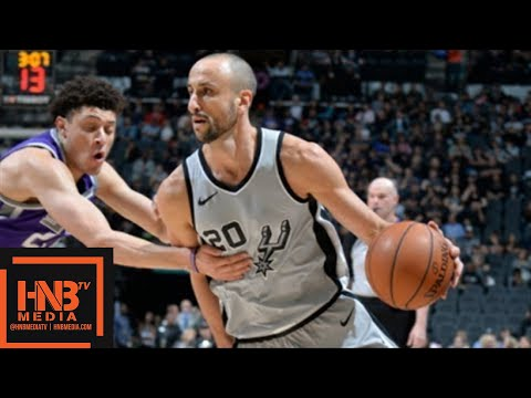 San Antonio Spurs vs Sacramento Kings Full Game Highlights / Jan 28 / 2017-18 NBA Season