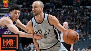 San Antonio Spurs vs Sacramento Kings Full Game Highlights / Jan 28 / 2017-18 NBA Season