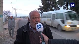 شكاوى من سوء حالة طريق دير السعنة في اربد (22/1/2020)