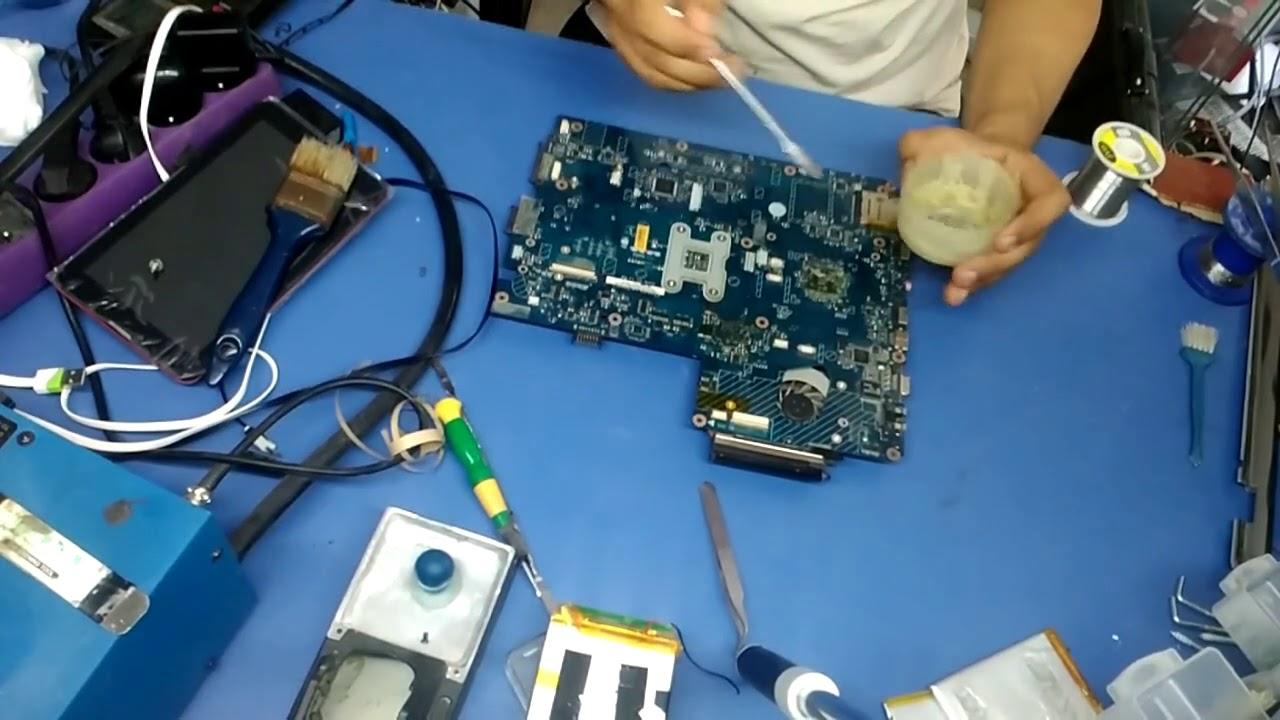 reparer carte graphique pc portable Réparation de carte graphique Pc portable dell ou hp   YouTube