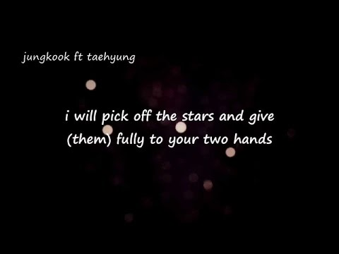 BTS Jungkook ft Taehyung - I will give everything to you by Lee Jang Hee
