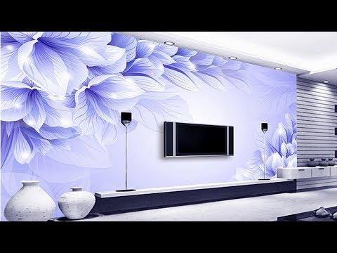 Top 50+ Tv Wall decoration Ideas | 3D Wallpaper for TV cabinet | living room & bedroom