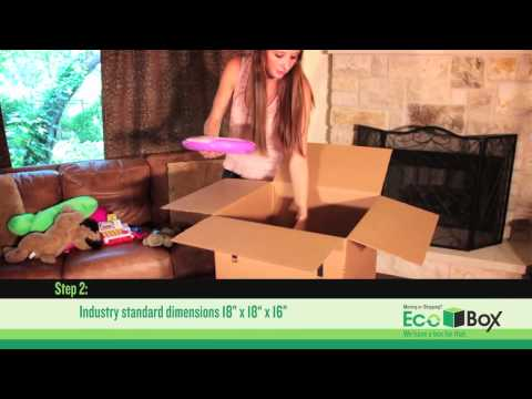 Ecobox Medium Moving Box Tutorial