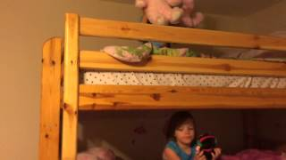 Triple Bunk Beds For Sisters