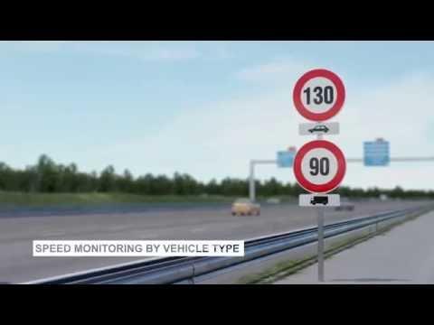 Road Camera Technology on the roads of Dubai