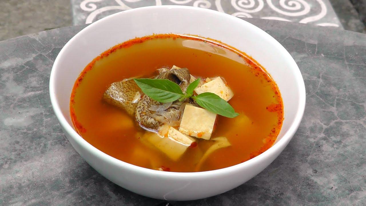 Thai Tom Yum Suppe - Vegan Vegetarisches Rezept - YouTube