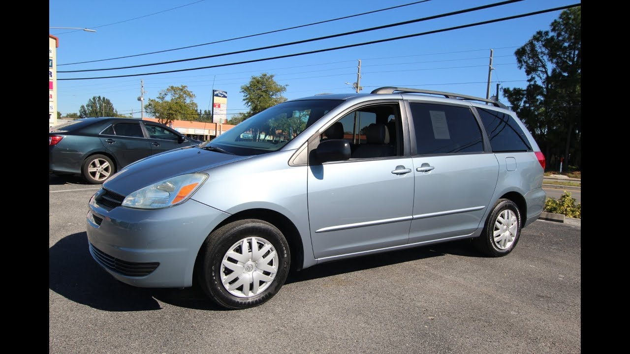 SOLD 2004 Toyota Sienna LE One Owner Meticulous Motors Inc Florida For Sale