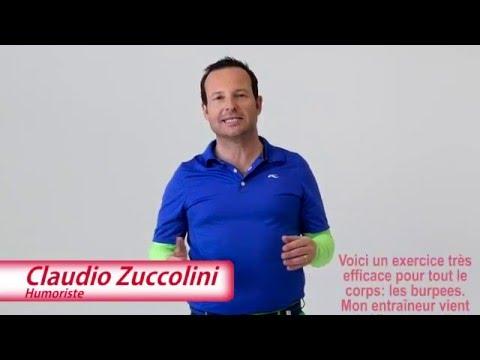 Exercice de fitness de Claudio Zuccolini pour La Suisse bouge