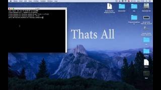 How to build and run c files on the mac os using gcc