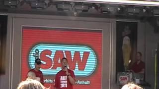 Aufstiegsparty des VfB Germania Halberstadt, Halberstadt mit radioSAW ( 29.05.2011) 1