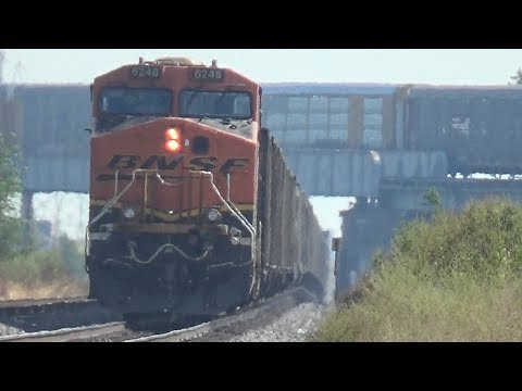 Railfanning Galesburg & Cameron Illinois September 15 16 2017
